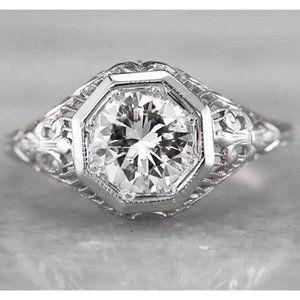 Tennis Diamond Bracelet 4 Carats Bezel Set Jewelry